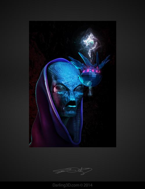 Alien Bust_Ryan Darling