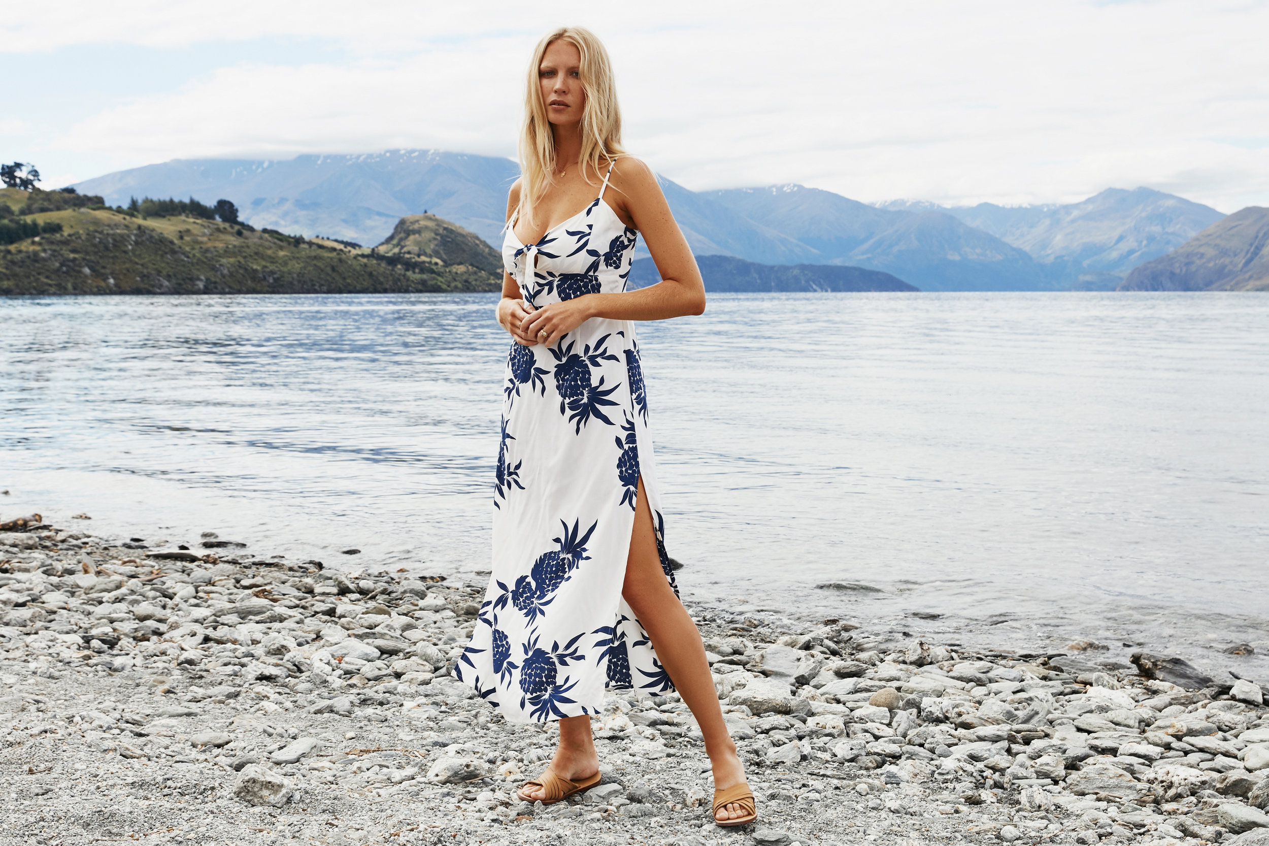 Flirty, fun, boho/contemporary collection from Bali. A family-owned company that's been around for 30 years with a boutique in Bali. The collection has something for everyone and effortlessly goes from beach to drinks.   beachgoldbali.com