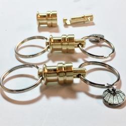 Nautical Quick Release Key Ring   by DesignWorks Studio