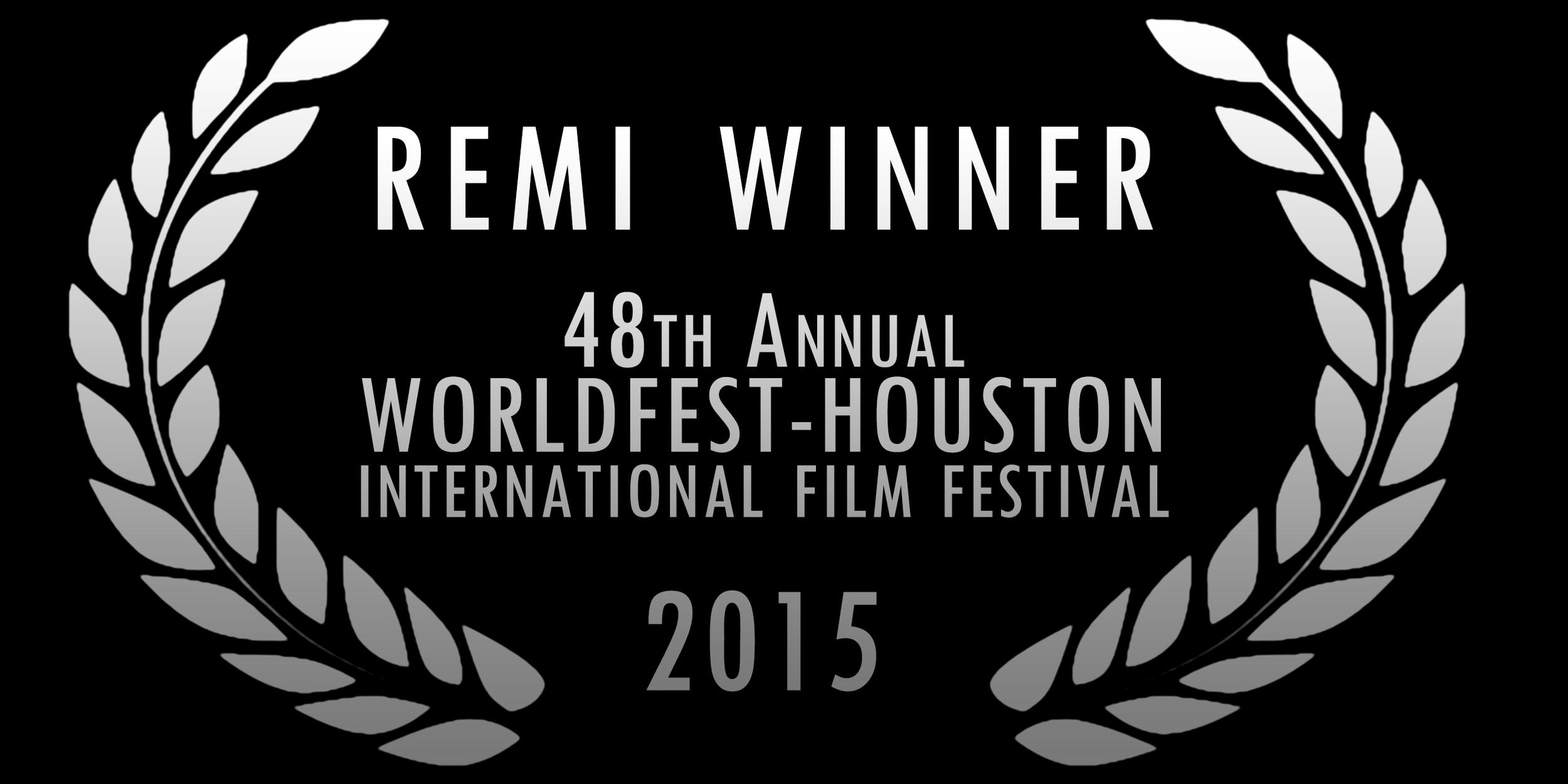 Platinum Remi Award Winner for Fantasy/Horror at the 48th Annual WorldFest-Houston International Film Festival