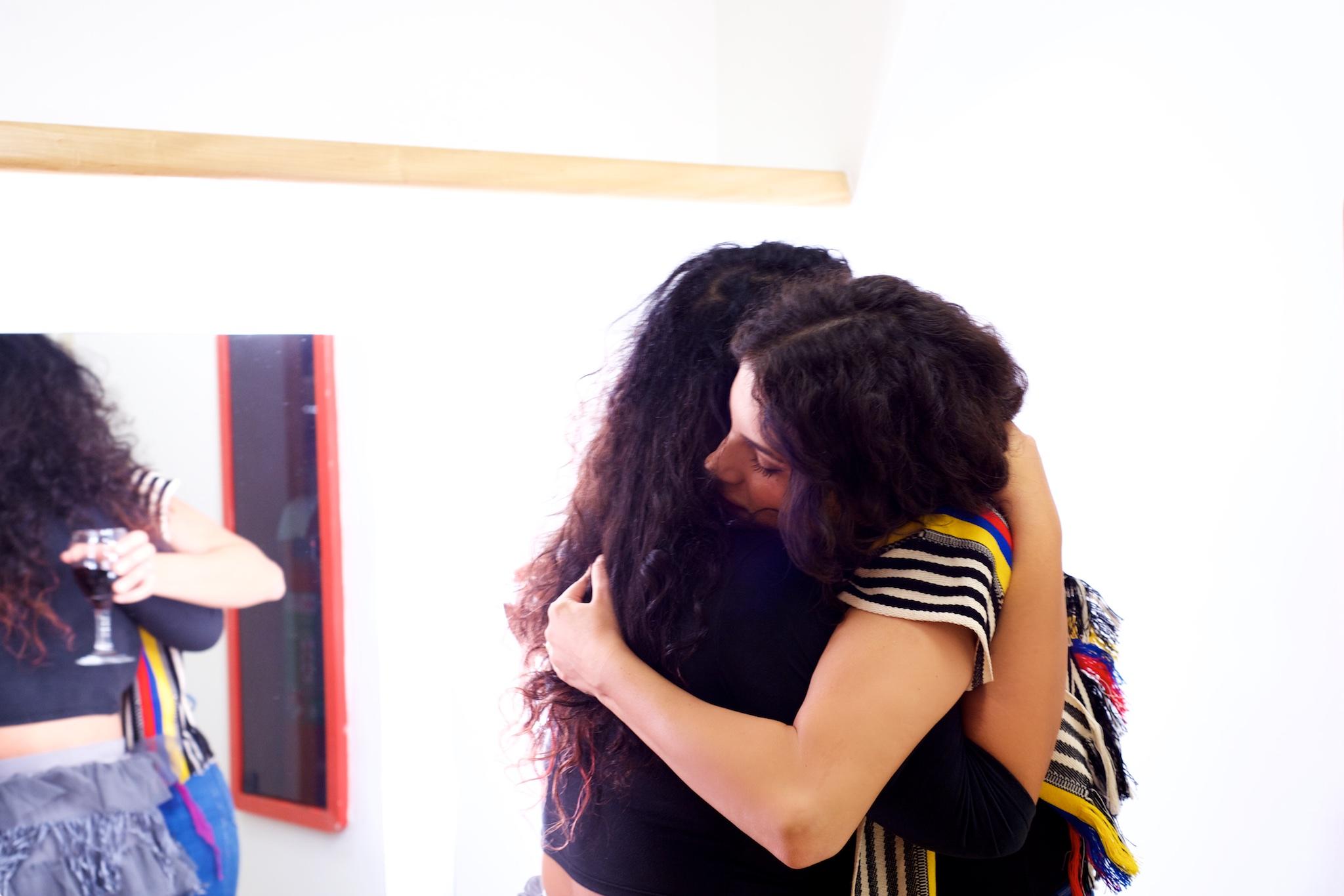 Tulipa Ruiz e Céu, Auditório Ibirapuera, 2015  Foto Clemente Gauer