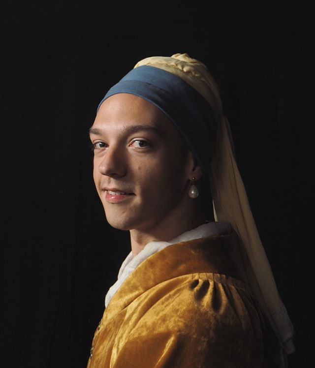 Guy with a Pearl Earring