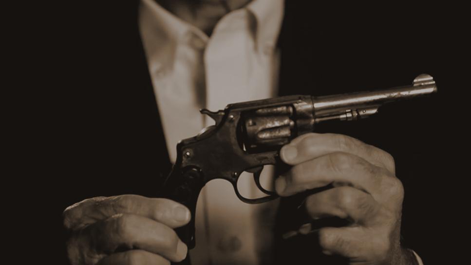 The gun Ruby McCollum used to shoot Dr. Adams