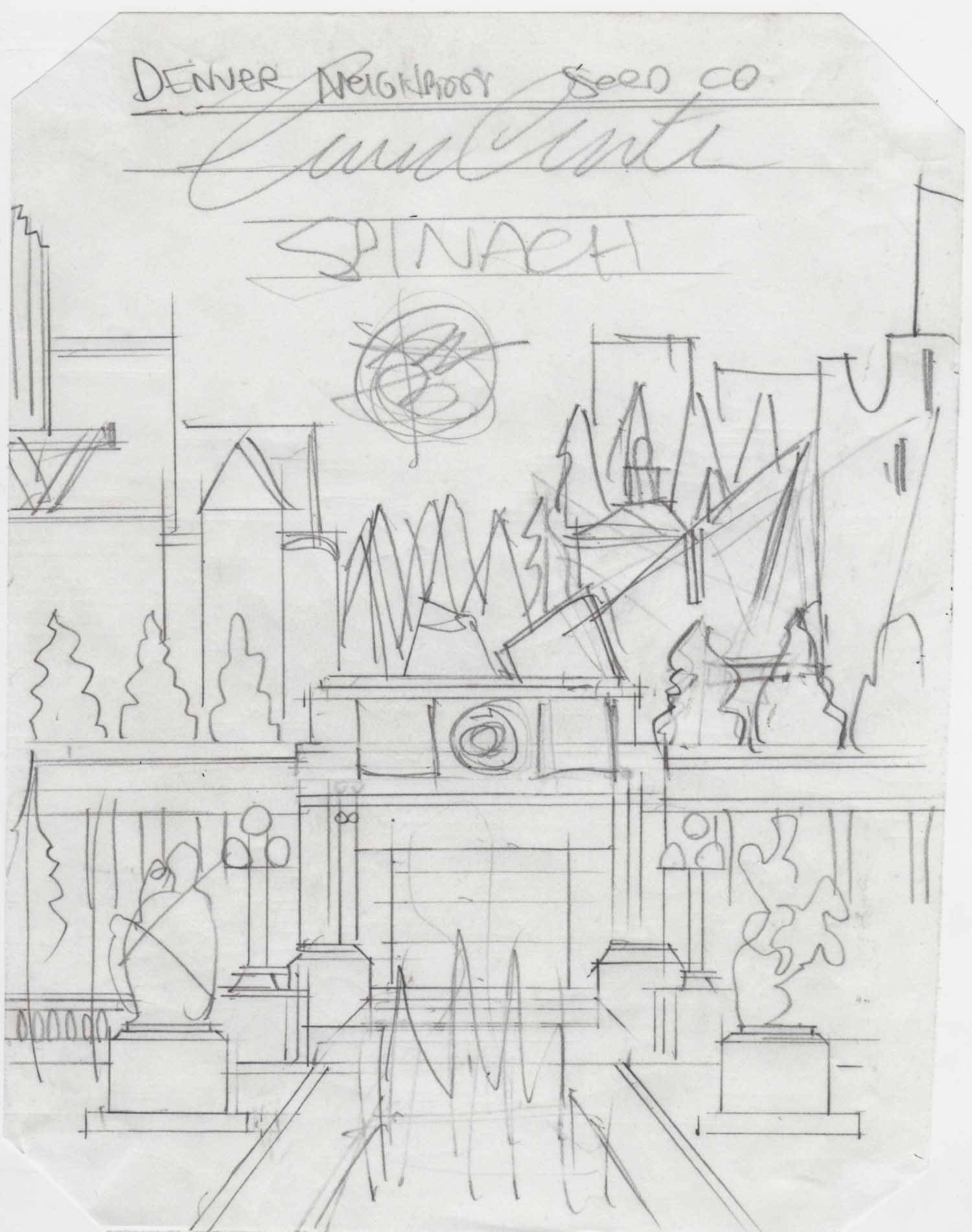1. Civic Center Golden Triangle Spinach Denver Neighborhood Seed Company Kenny Be Art & Design kennybe.com Original Sketch.jpg