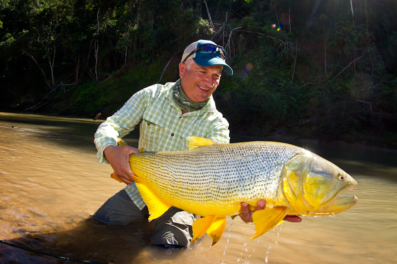 The reason anglers travel all the way to Bolivia