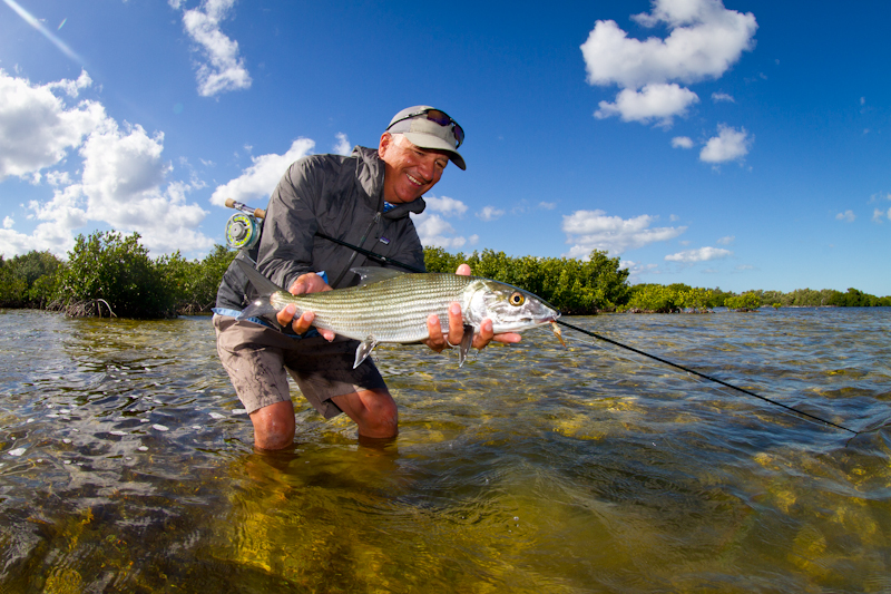 Great Bonefish from one of the inside lagoons.