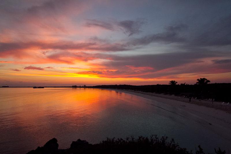 Sunrise at Villas las Brujas, Cuba