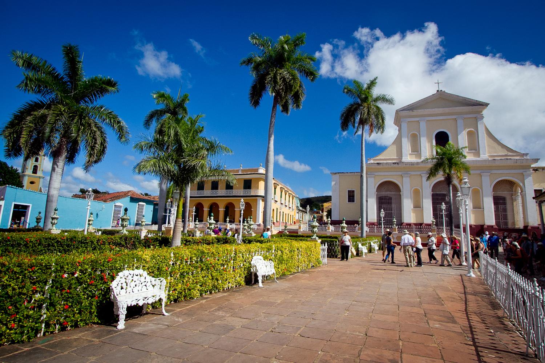 Main square, Trinidad, Cuba