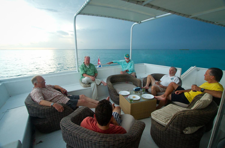 Relaxing, Georgiana Yacht, Zapata, Cuba