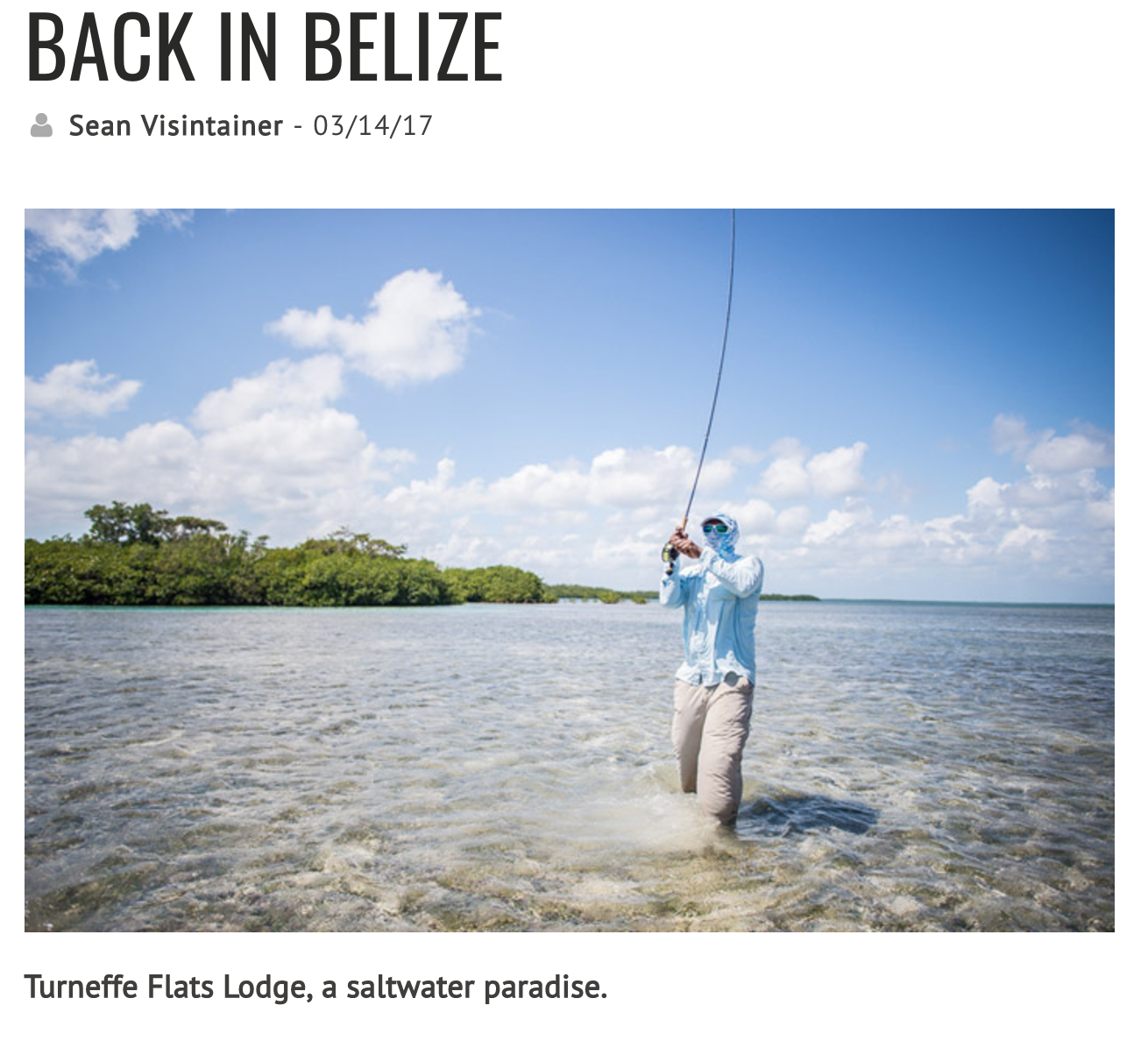 It had been almost 8 years since I've fly fished in Belize. In 2006 the Silver Bow did it's first hosted trip to the island of San Pedro, a small tourist location just a short twenty min flight from Belize City.  Read Further.... https://www.silverbowflyshop.com/blog/back-in-belize/