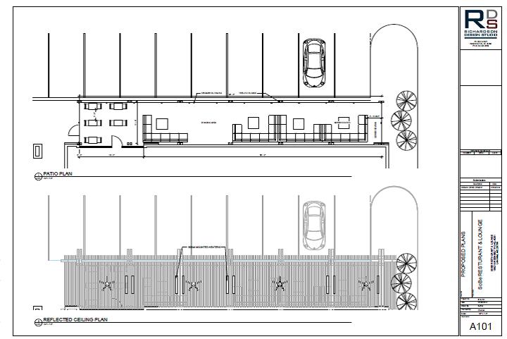 Preliminary Floorplan Atrium : SoBe Resturant & Lounge
