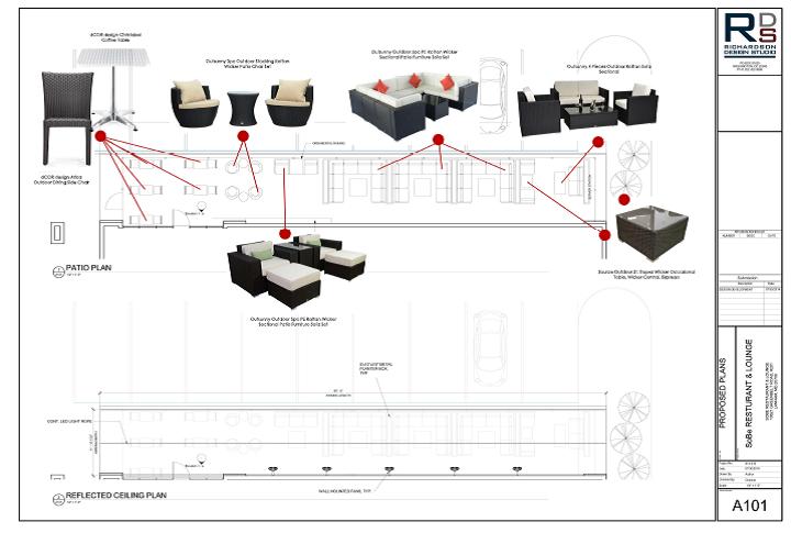 Furniture Plans: SoBe Resturant & Lounge
