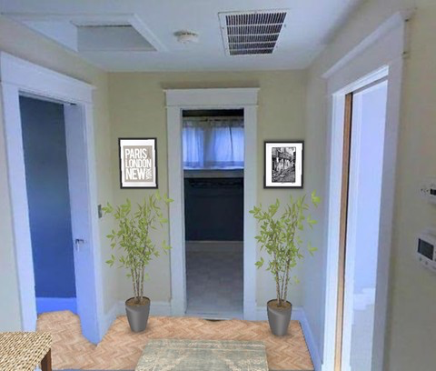 Arnold Residence Foyer (After)