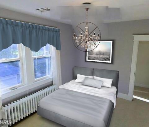 Arnold Residence Master Bedroom (After)