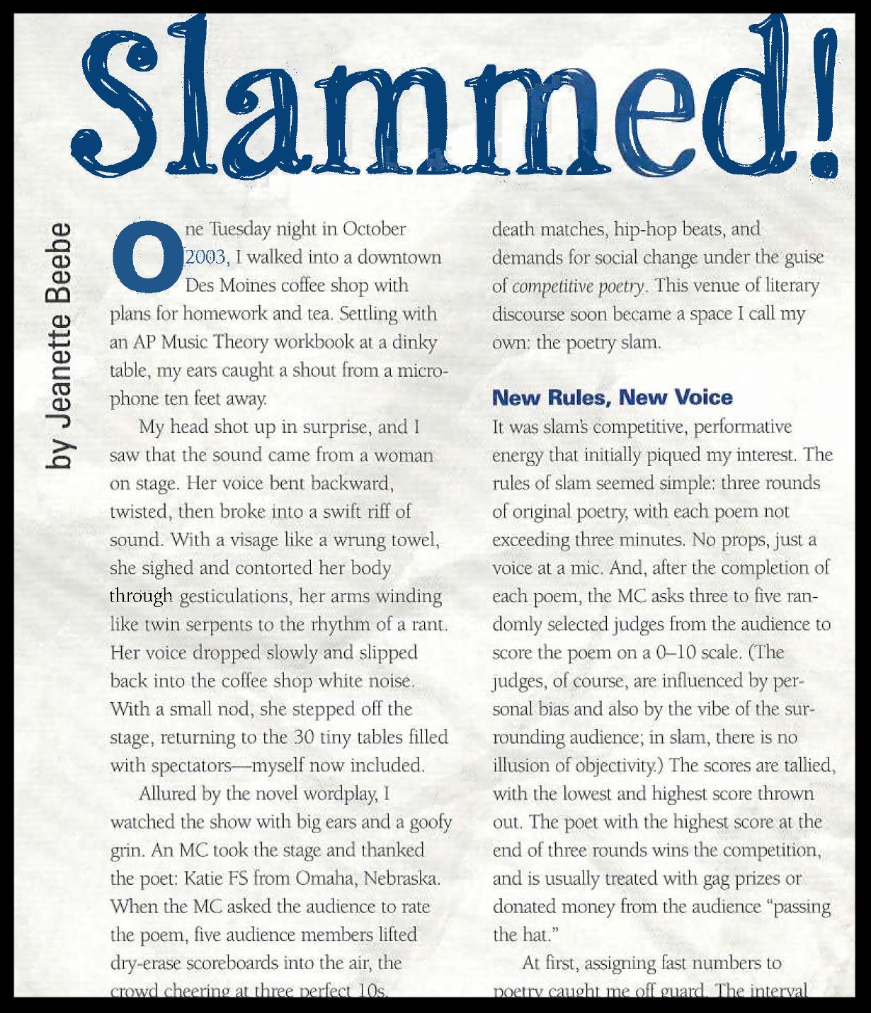 Imagine magazine, Johns Hopkins University (2005)