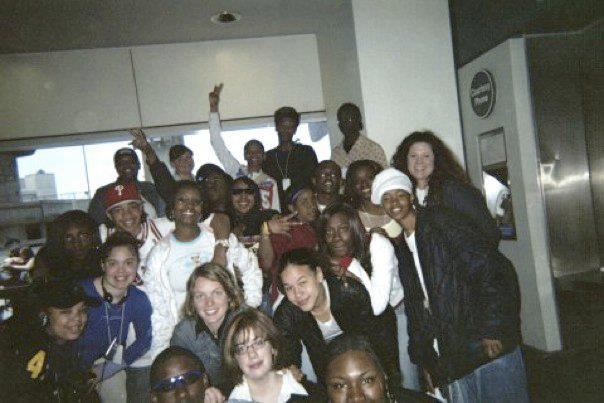 The Teens Rock the Mic crew in San Francisco (2005)