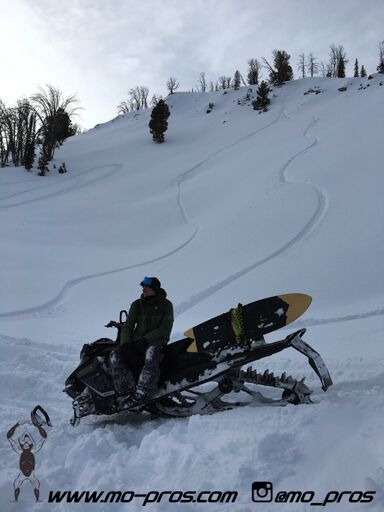No matter how you ride the tunnel of your sled gets scratched, scuffed, and even possibly dented. Happen to encounter a skier or a snowboarder, those boots will literally destroy your tunnel in a single ride. The Mo Pros Black Out Tunnel Guards are designed to overcome this issue, preserving your snowmobiles sharp looks and resale value