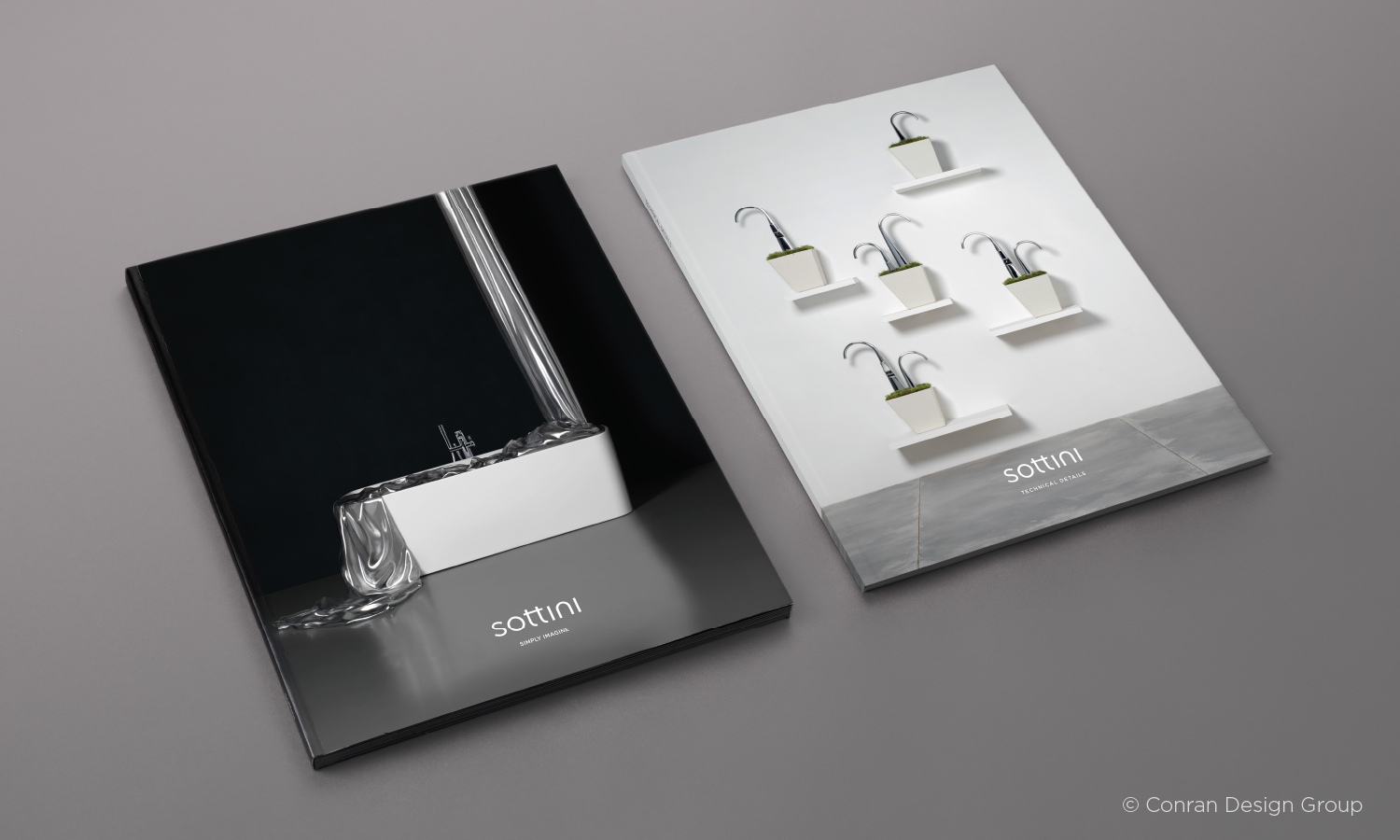 Inspiration & Technical brochure covers