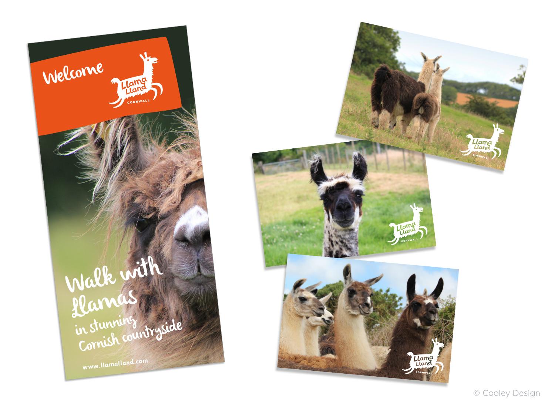 Promotional leaflet / Postcards