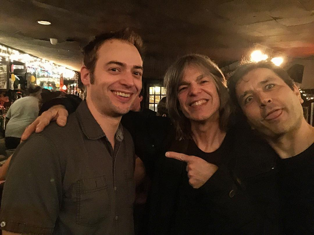 with Mike Stern and Edmond Gilmore