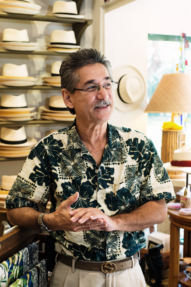 Newt at The Royal Hawaiian