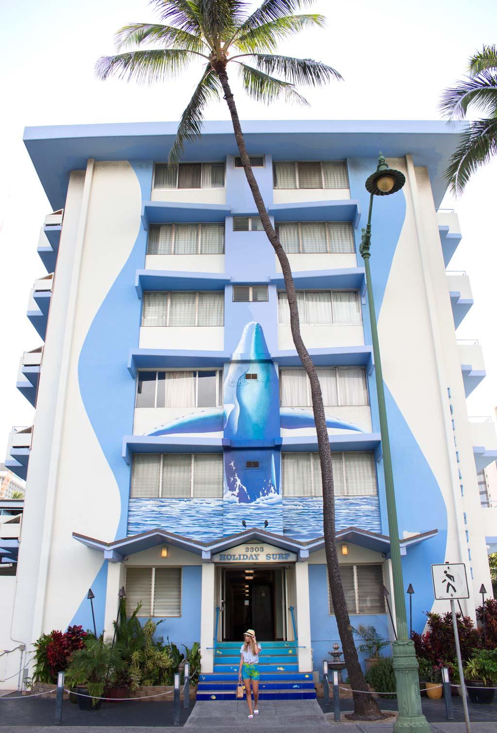 Holiday Surf Hotel Waikiki