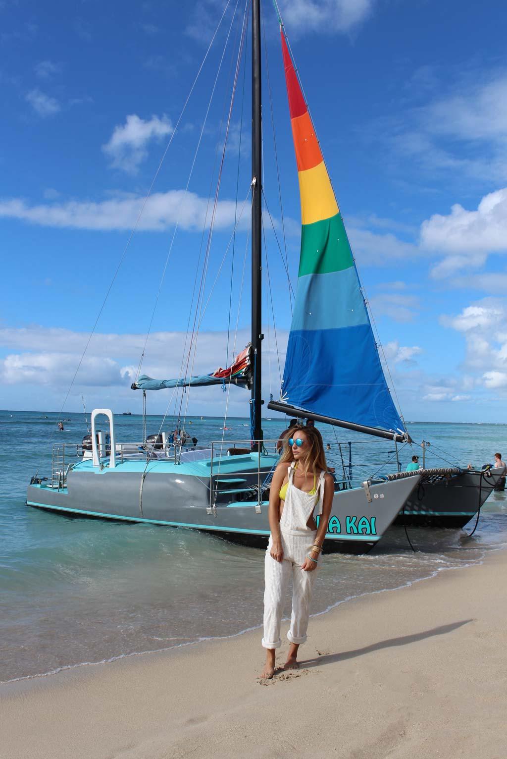 Mana Kai Catamaran Waikiki // www.the96815.com
