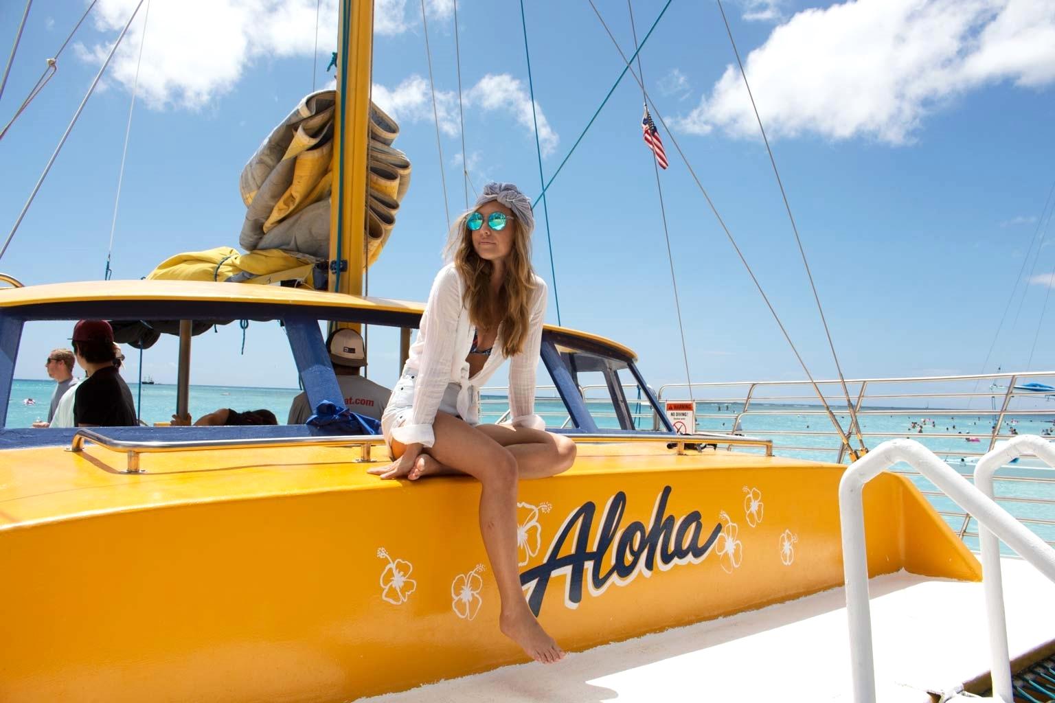 Manu Kai Catamaran Waikiki