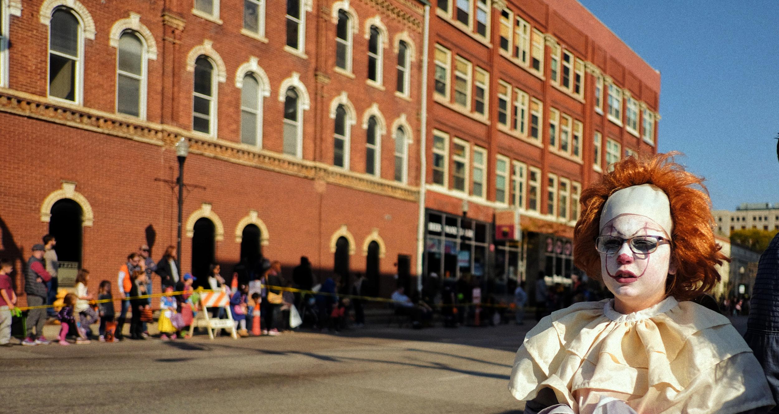 Old kid in Davenport, Iowa
