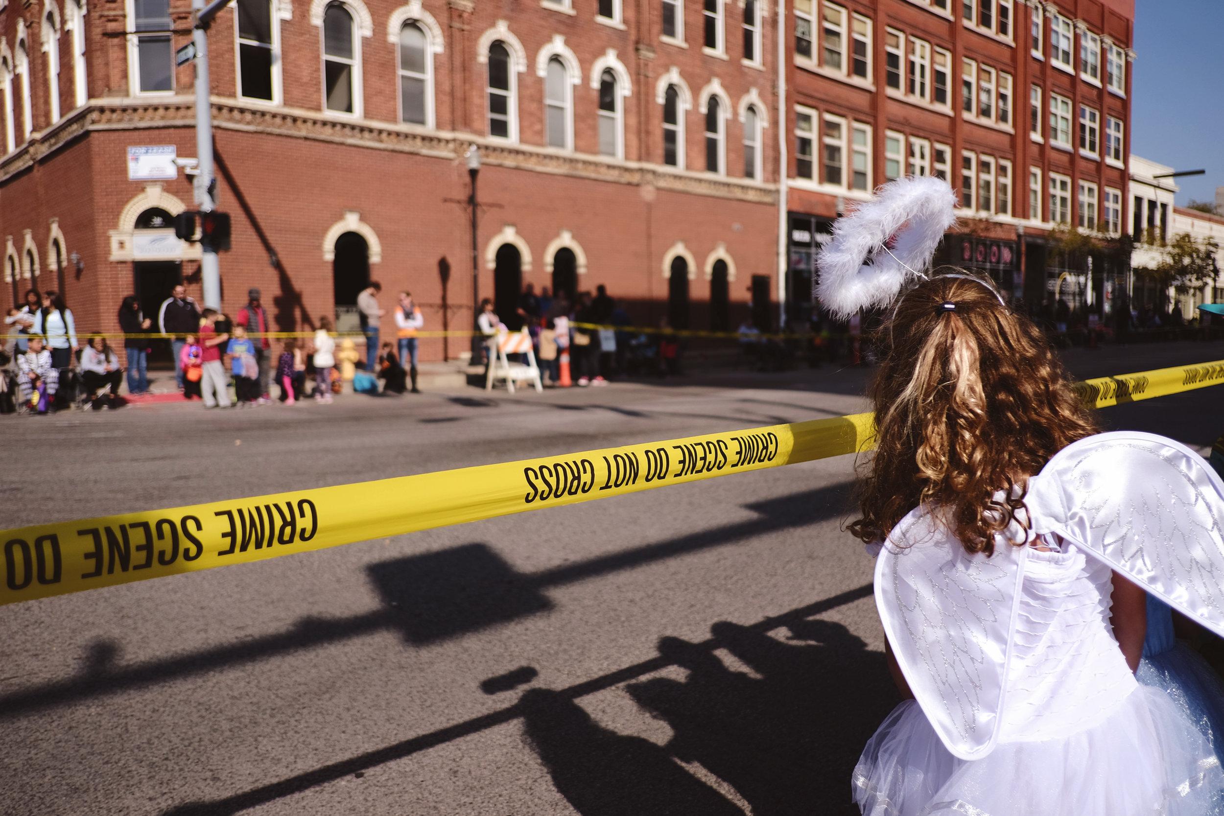 Crime Scene Angel
