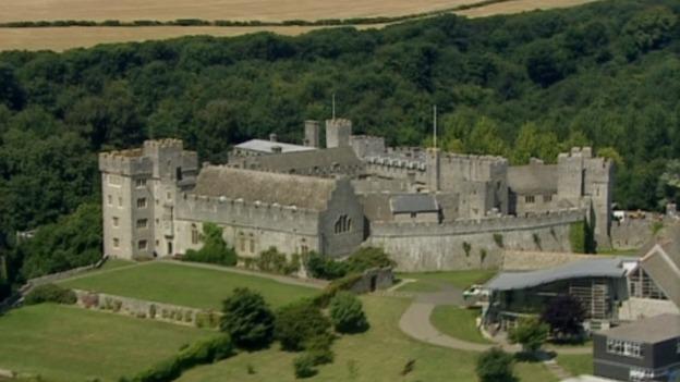 St. Donats Castle.