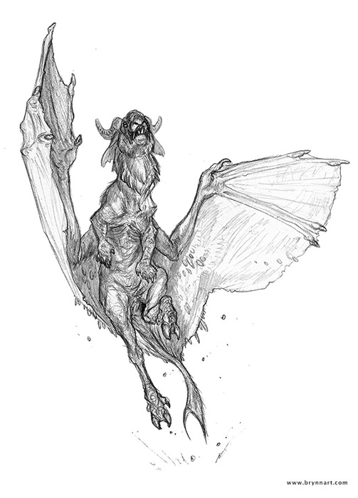 The Jersey Devil  Personal Work