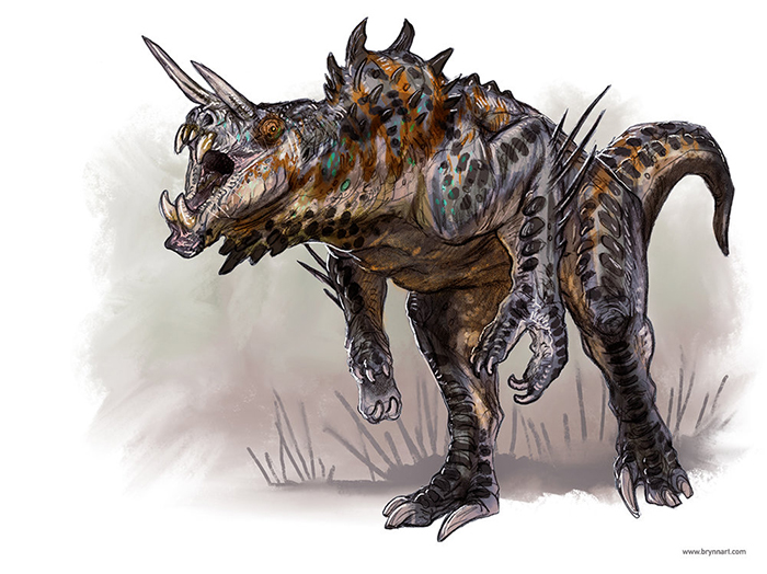 Deathclaw Redux  Drawn in Your Style, 2018