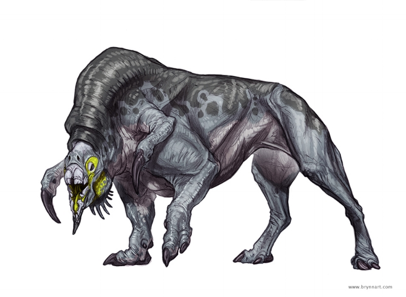 Terredel Creature Concept  Company: Monte Cook Games