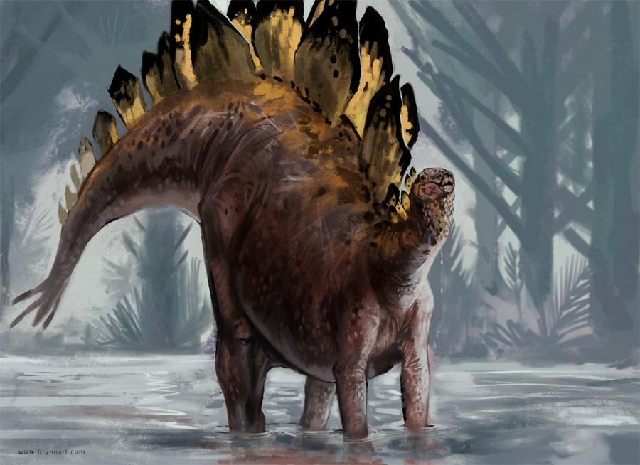 Stegosaurus  Draw Dinovember, 2018