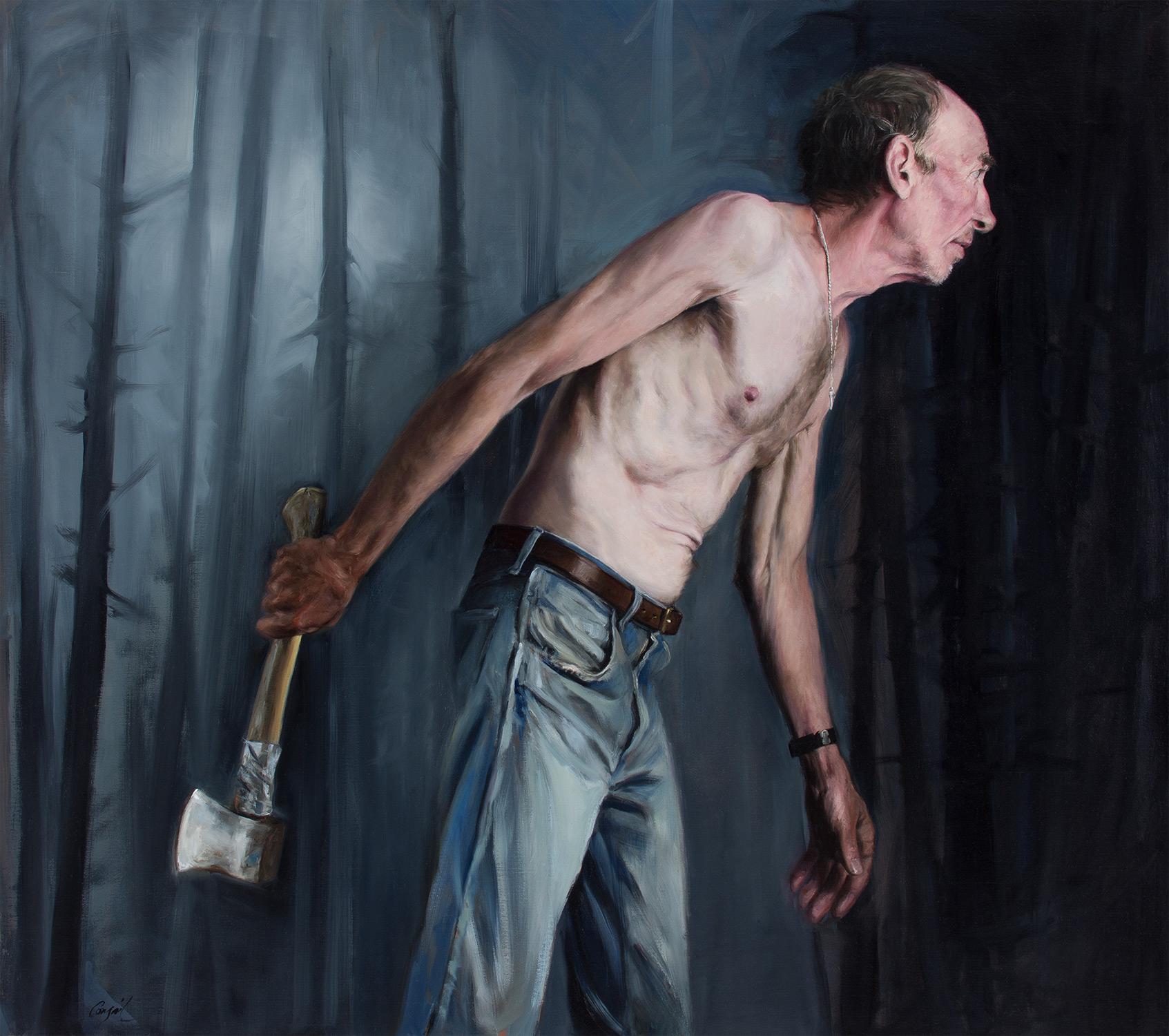 hatchet man (careful with that axe, Eugene)