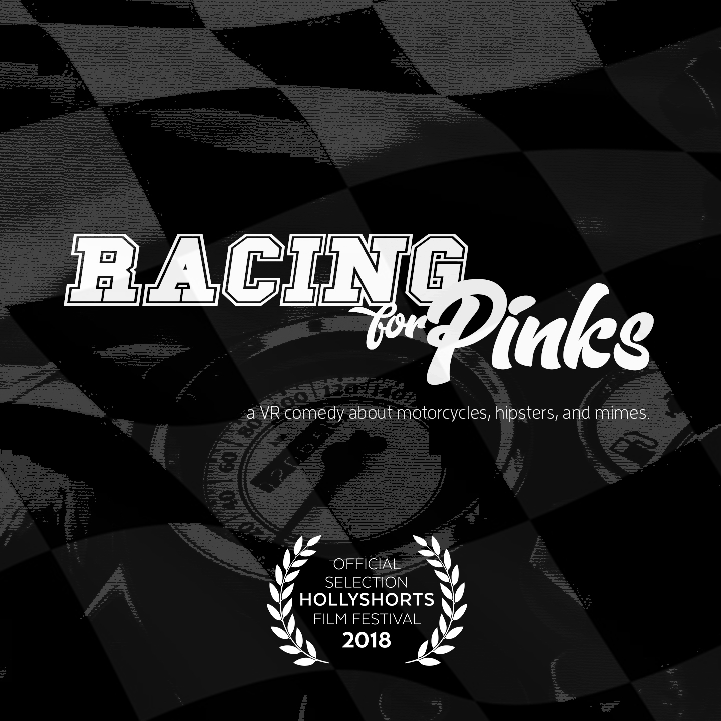 Racing For Pinks can be seen on multiple streaming VR platforms, such as  Samsung VR.  It can also be downloaded and viewed via an Oculus Rift  here .