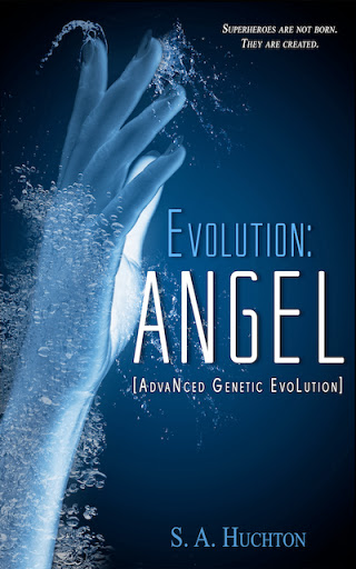Evolution: ANGEL Cover Reveal & Excerpt