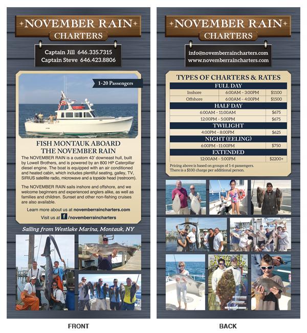 @vmyselfandi November Rain Charters brochure