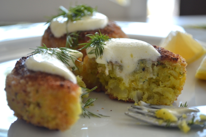 Turmeric Fish Cakes