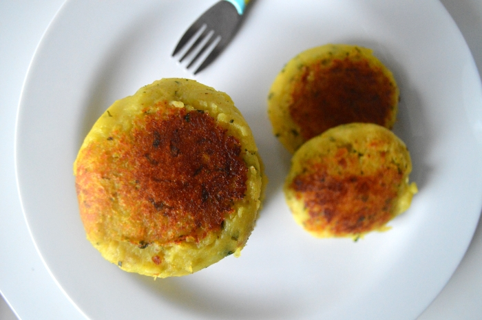 SPICED POTATO PATTIES