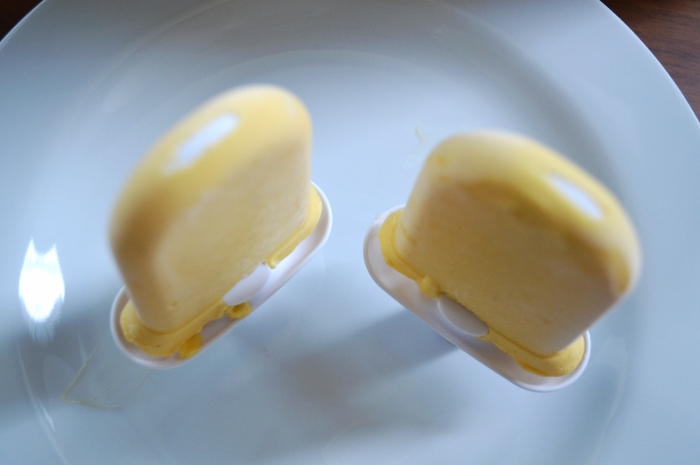 Cardamom Mango Lassi Popsicles
