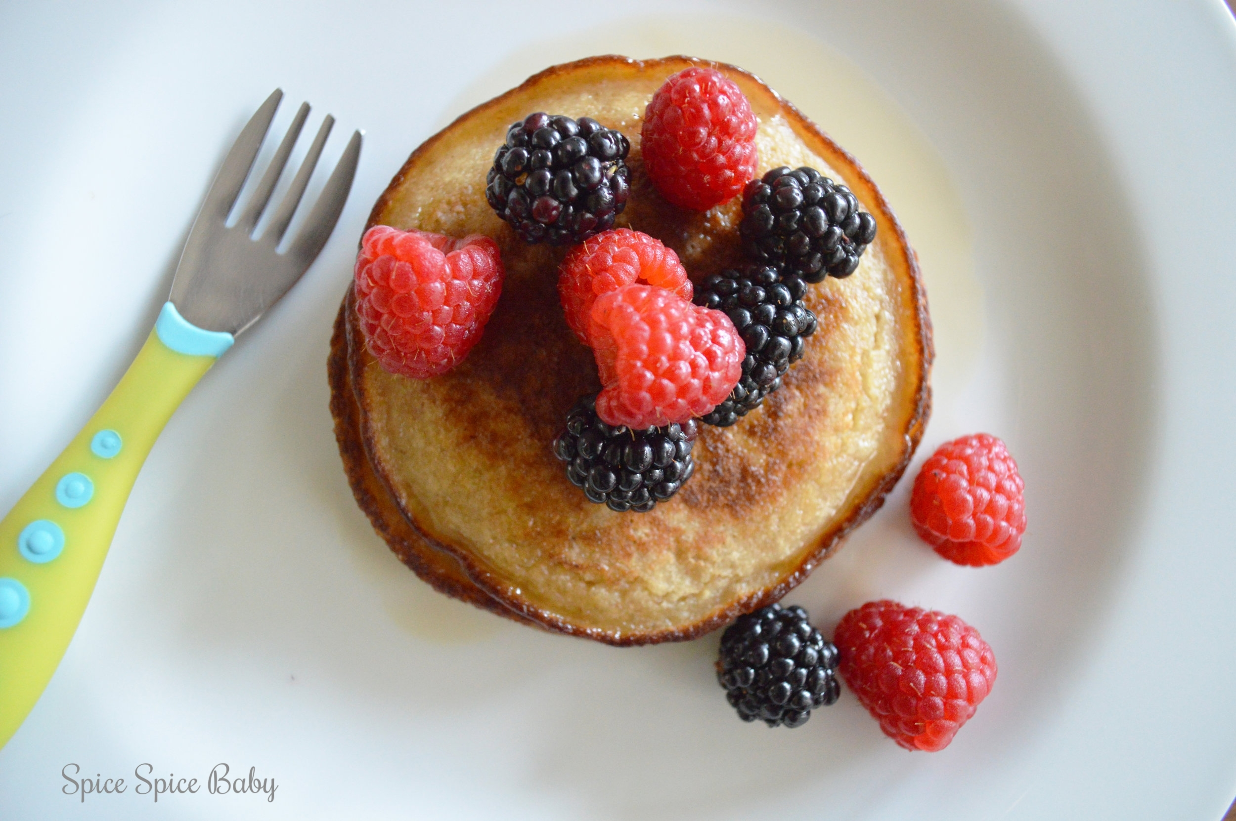 Healthy Cinnamon Pancakes