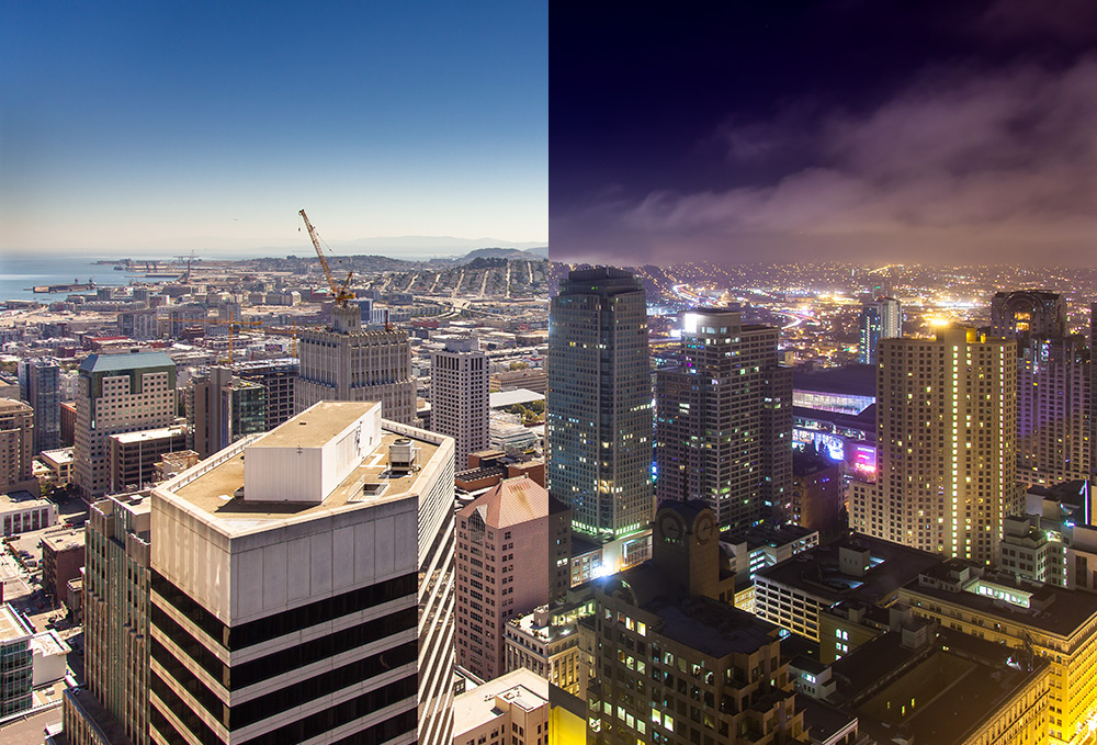 San Francisco - from 24 Hour Wallpaper  To download subscribe to our wallpaper mailing list above.