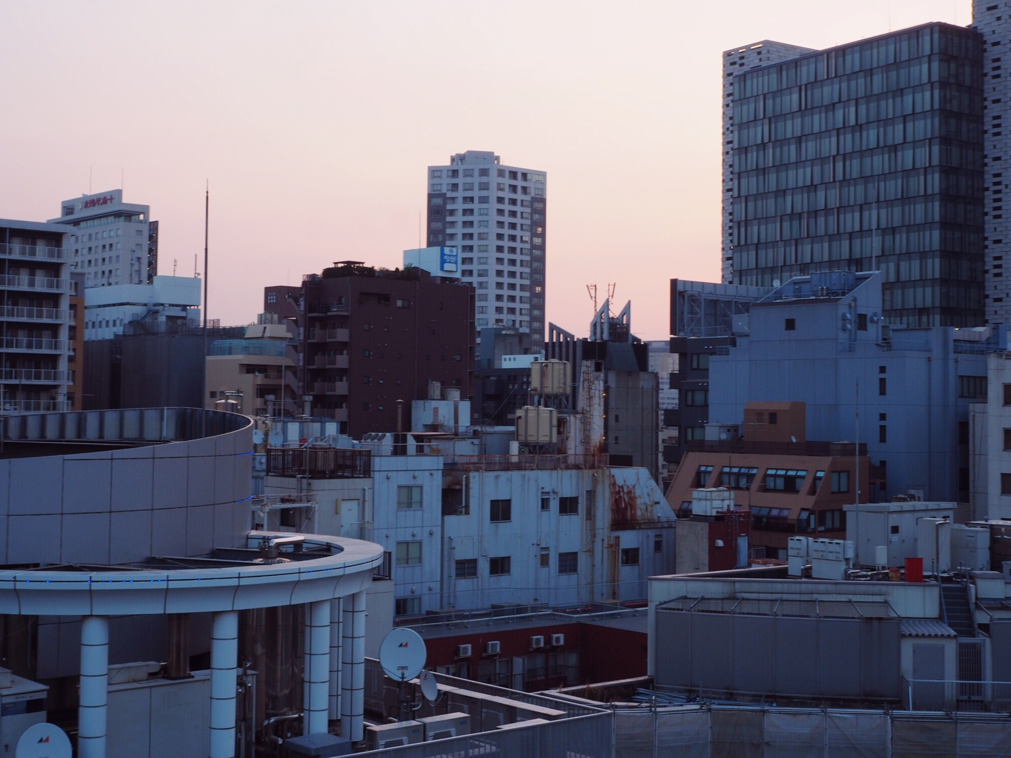 Sunrise in Shinjuku, aka jetlagged on day two. View from the balcony of our airbnb.