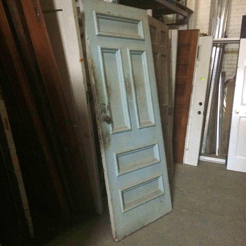 build it green door blue
