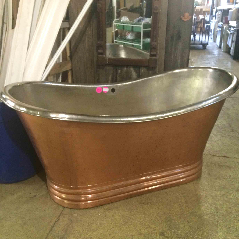 Copper Bathtub $2600