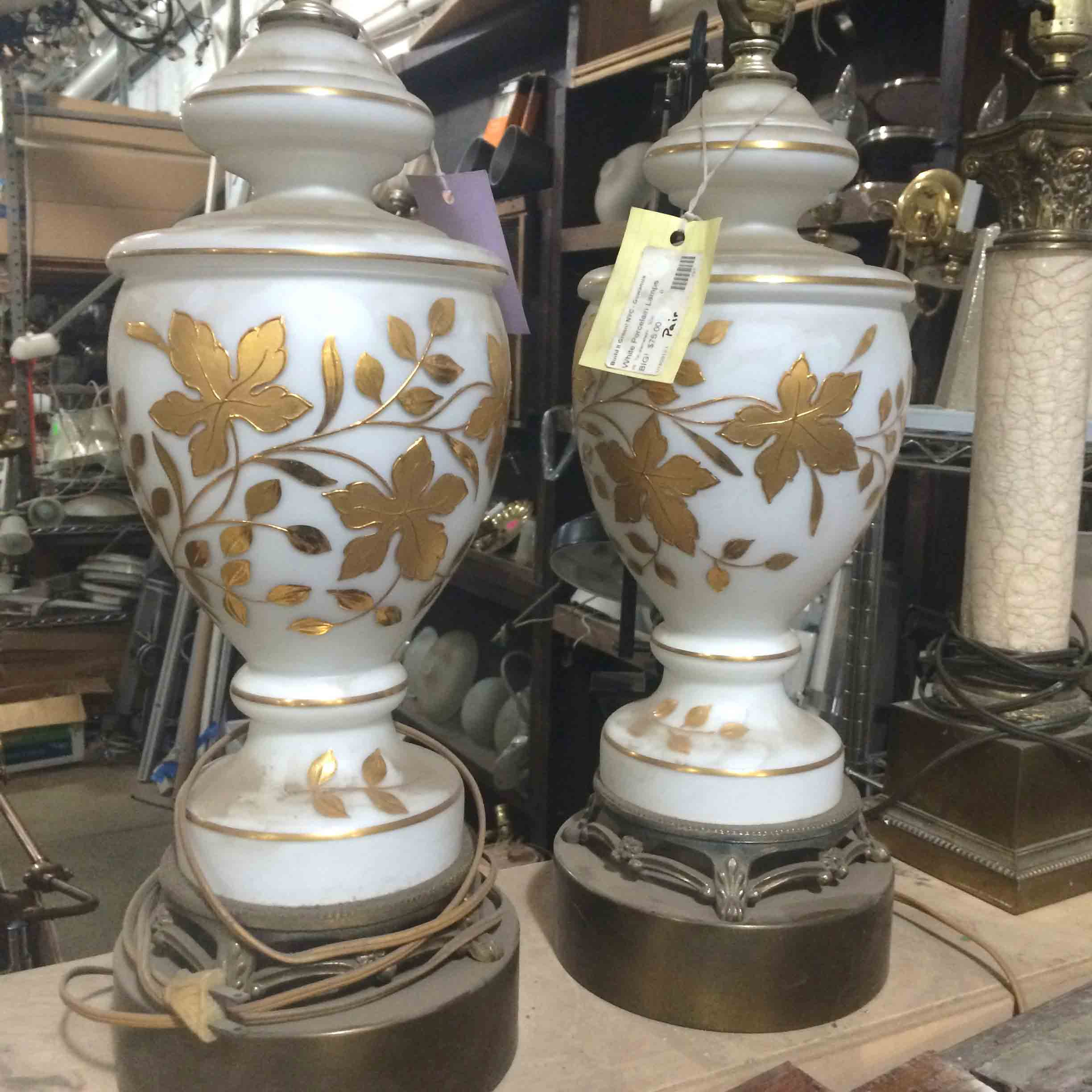 Lamp Bases $75 for the pair
