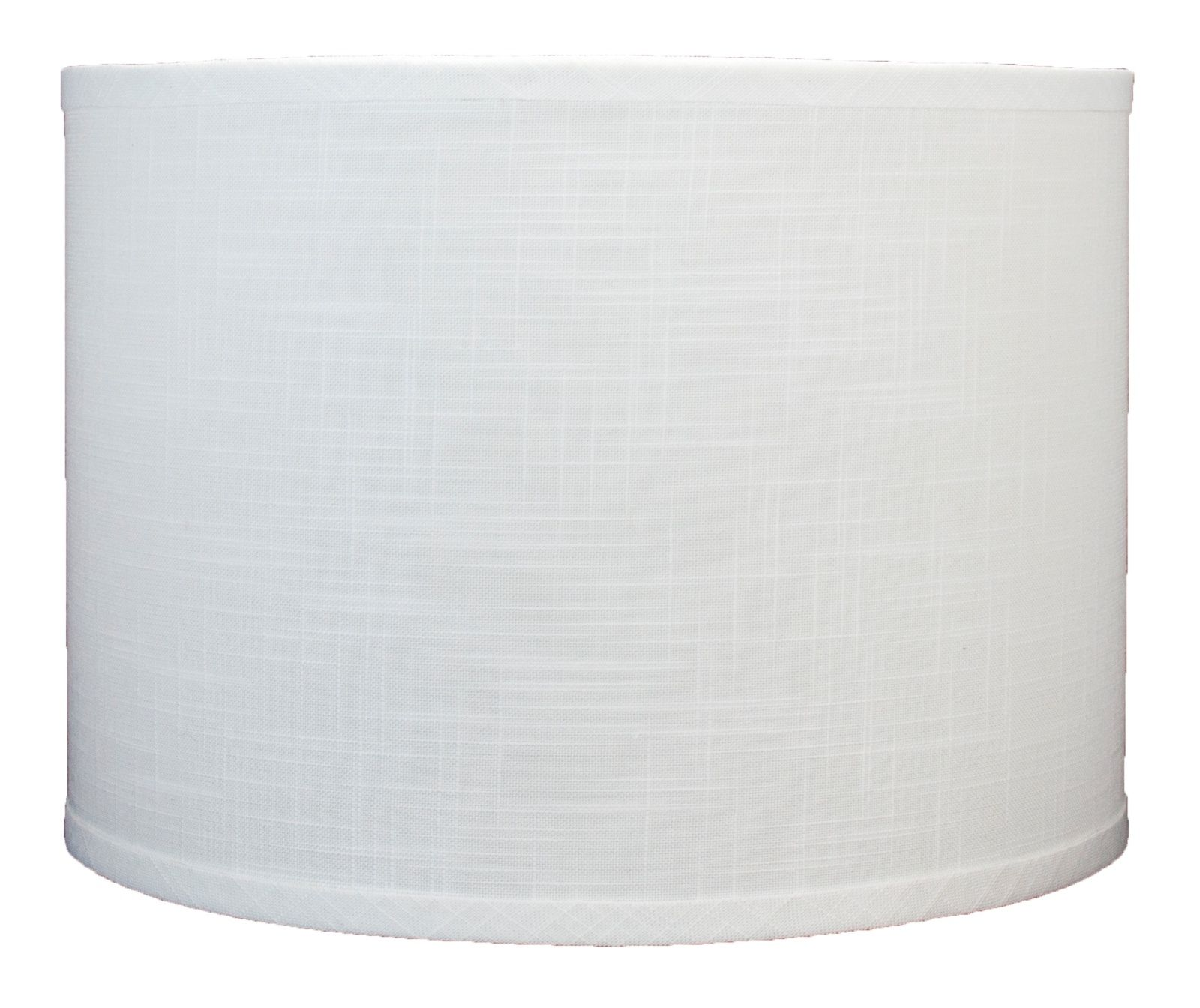 """I chose these simple, straight shades for a more modern look.  You can find lamp shades at many local home decor shops, hardware stores,  or online. I got these 12x12x10 """"off-white"""" linen shades from Urbanest Living  for $28.99 each  ."""