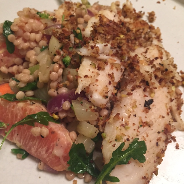Pistachio-Crusted Catfish  - I hardly ever cook fish, and it turned out so yummy.
